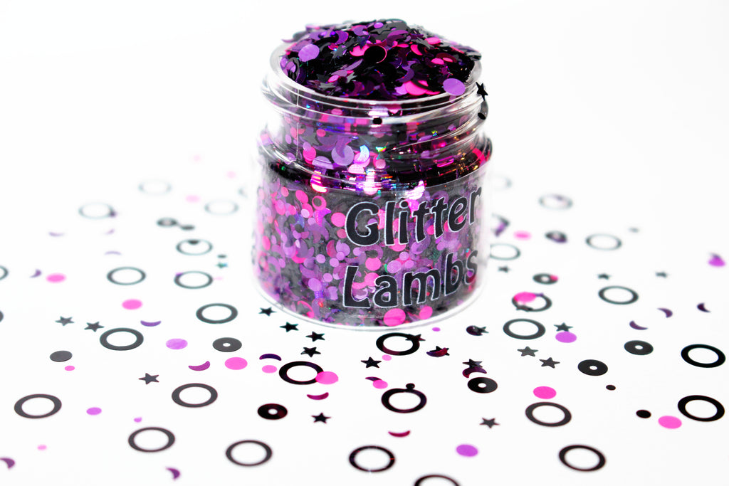 Paranormal Activity Glitter from the Ghost Hunters Glitter Collection by GlitterLambs.com