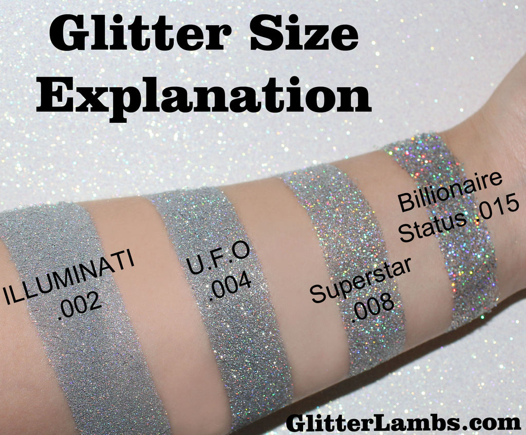 What Size Of Glitter Do I Need To Buy? GlitterLambs.com