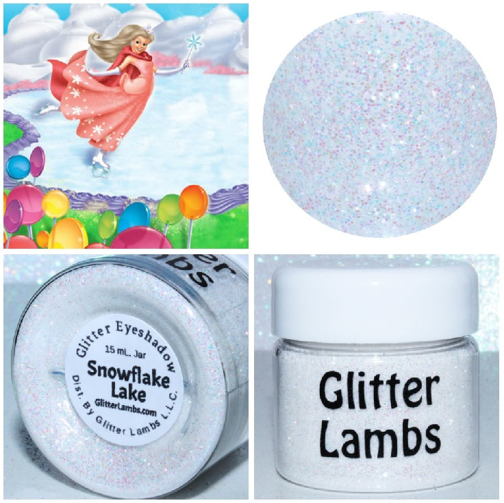 Snowflake Lake  from the Candy Land Glitter Collection by Glitter Lambs - GlitterLambs.com