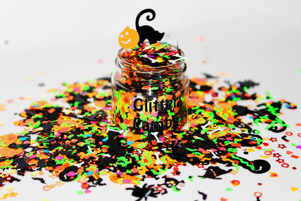 The Sanderson Sisters Threw A Halloween Party Glitter by GlitterLambs.com | Hocus Pocus Limited Edition 2020 Halloween Glitter Collection