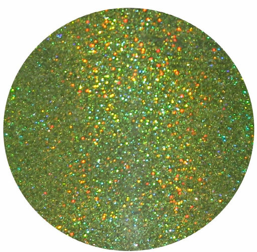 "Glitter Lambs ""Alien"" Green Glitter Eyeshadow 15 mL. Pot Makeup Pot GlitterLambs.com"