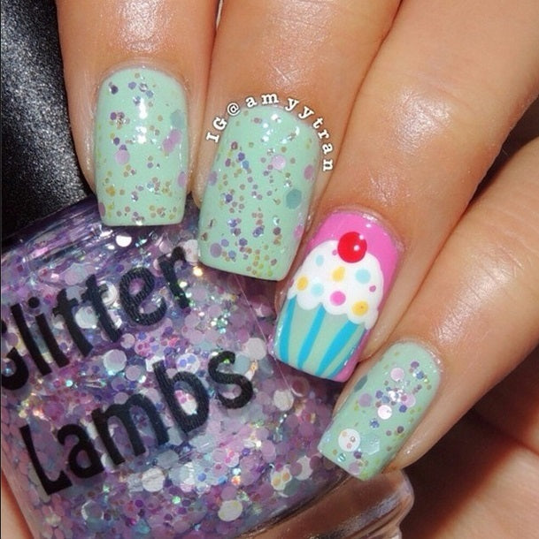 Kawaii Bake Sale | Glitter Topper Nail Polish