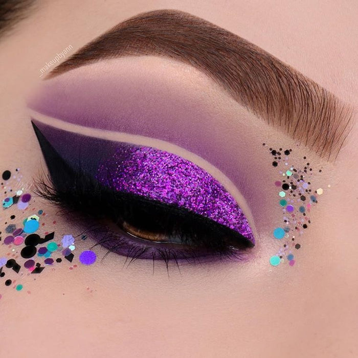 "Glitter Lambs ""My Unicorn Is Friends With The Boogie Man' Body Glitter worn by @_makeupbyann"