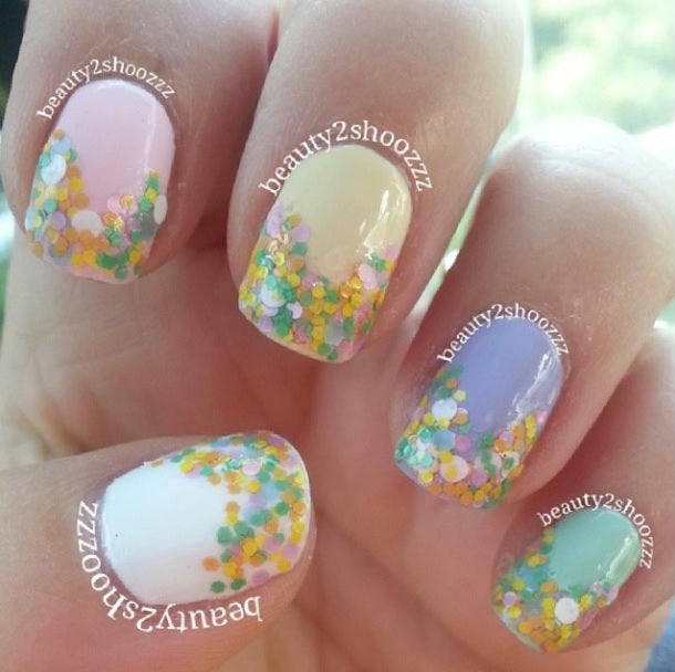 "Glitter Lambs ""Nursery Rhymes"" Glitter Topper Nail Polish #nails #glitterlambs #glitternails #glittertopper #nailpolish #nailart #naildesigns #glitternailpolish"