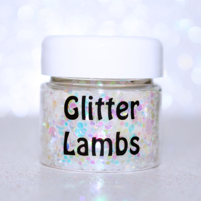 "Glitter Lambs ""Candy For My Fairy"" Body Glitter GlitterLambs.com Fairy Chunky Glitter for Nails, Crafts, Resin, Jewelry Making, Body"