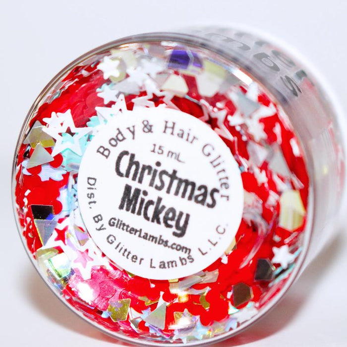 Christmas Mickey | Body Glitter