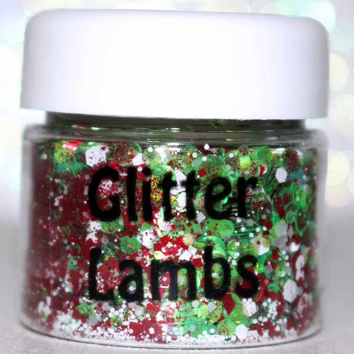 Jingle Bell Rock | Red & Green Christmas Body Glitter