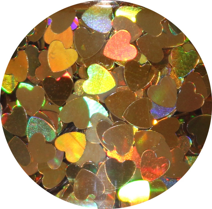 Holographic Heart | Body Glitter Pots (Pick a color)
