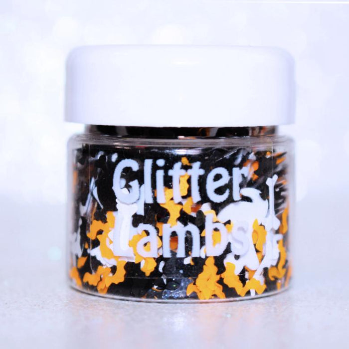 """Haunted House"" Halloween Body Glitter By GlitterLambs.com"