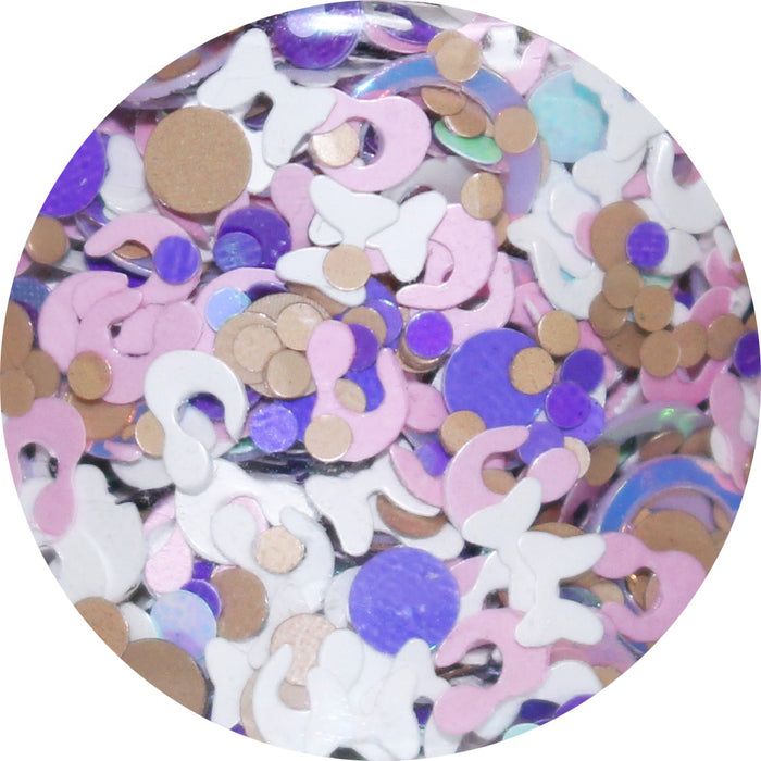 "Glitter Lambs ""Hickory Dickory Dock"" Glitter Pot For Body, Face, Skin, Hair, Nails #nailglitter #glitter #bodyglitter #hairglitter #nails #glitterlambs #faceglitter #hickorydickorydock"