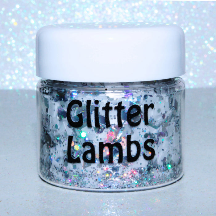 """Ice Palace"" from the Candy Land Glitter Collection by Glitter Lambs 