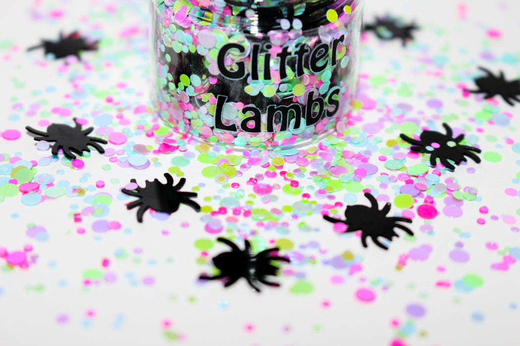 Little Miss Muffet Glitter by GlitterLambs.com | For Arts and Crafts