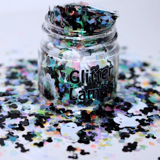 Lonesome Ghosts & Mickey Glitter. Great for crafts, resin, etc. by GlitterLambs.com