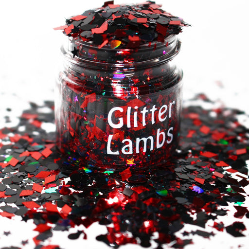 Lord Licorice Glitter. Great for crafts, nails, resin, body, jewelry making, etc. by GlitterLambs.com
