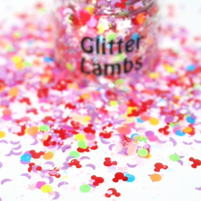 Mickey's Play House Glitter for crafts nails resin by Glitter Lambs