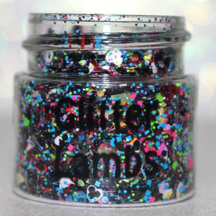 "Glitter Lambs ""Milky Way Cereal"" Chunky Body Glitter 