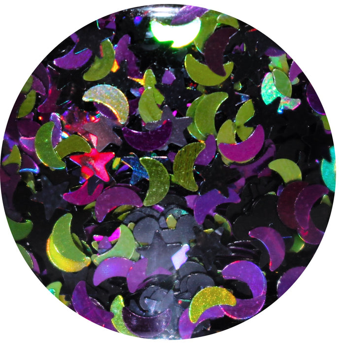 """Minnie's Magic Potion"" Halloween body glitter by GlitterLambs.com 