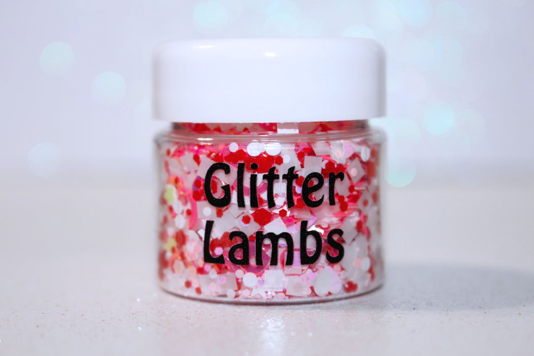 """Mr. Mint"" Body Glitter from the Candy Land Glitter Collection. Shop GlitterLambs.com"