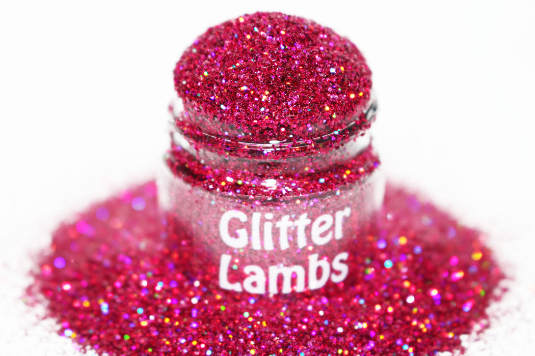 My Kitty Loves Carnival Cake glitter. Size is .015. Great for crafts, nails, resin, etc. Jar is 15 mL. by GlitterLambs.com