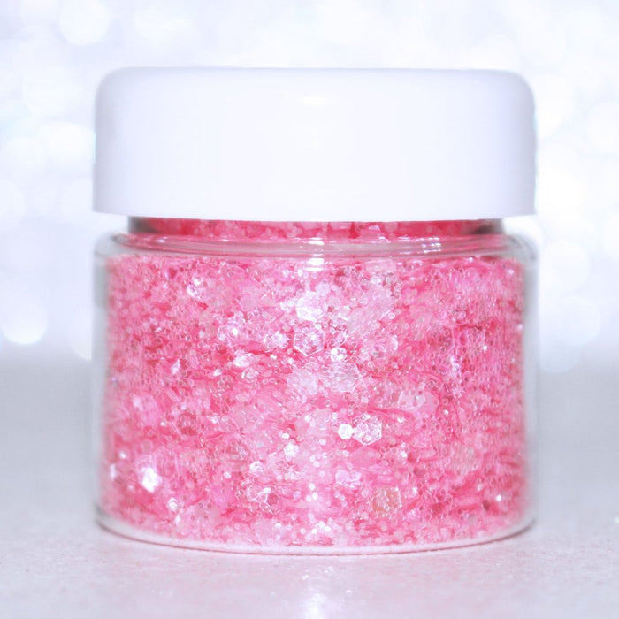 "Glitter Lambs ""My Unicorn Baked Me Cupcakes"" Pink Body & Hair Glitter For Festival or Rave by GlitterLambs.com #bodyglitter #hairglitter #glitter #pinkglitter #rave #festival #glitterlambs"