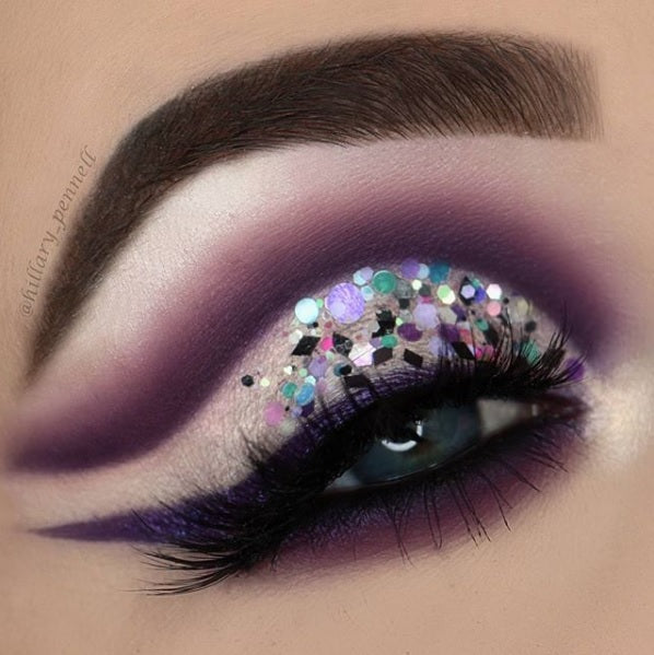 "@hillary_pennell wearing @glitterlambs ""Tropical Mermaid Lagoon"" Glitter GlitterLambs.com"