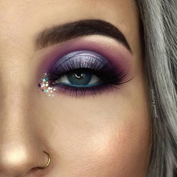 "Glitter Lambs ""My Unicorn Is Friends With The Boogie Man"" Body Glitter worn by @hillary_pennell #makeup #beauty #cosmetics #eyes #glitter #glitterlambs #bodyglitter #unicorn #unicornmakeup #unicornglitter"