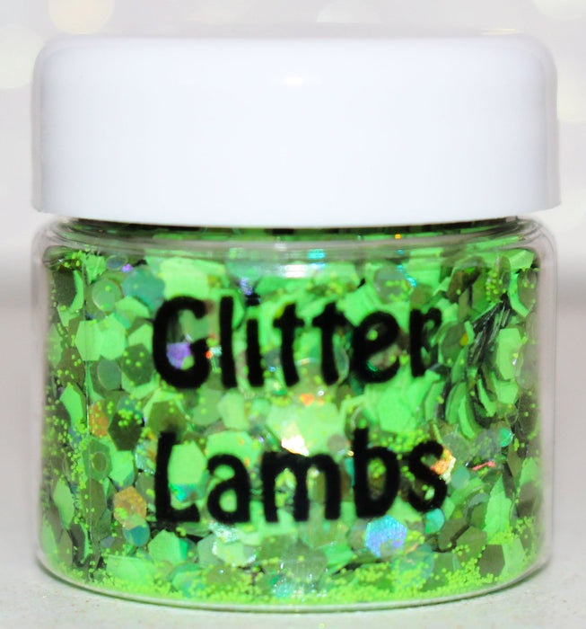 Oogie Boogie Body Glitter by GlitterLambs.com The Nightmare Before Christmas Halloween Glitter #oogieboogie #halloweenglitter #glitter #halloween