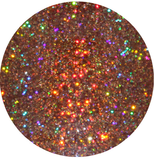Peanut Brittle House Glitter Eyeshadow from the Candy Land Glitter Collection by Glitter Lambs | GlitterLambs.com | Holographic Glitter Eyeshadow