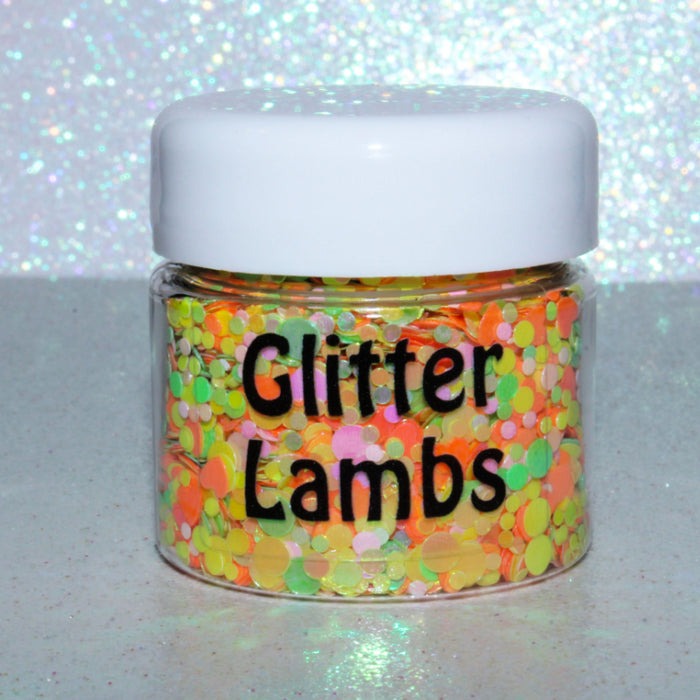 Princess Lolly from the Candy Land Glitter Collection by Glitter Lambs | GlitterLambs.com