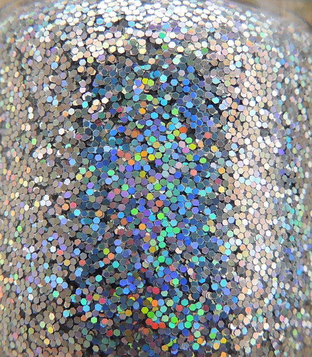 "Glitter Lambs 'Robots For Sale"" glitter topper nail polish #nails #nailart #naildesigns #glitternails #nailpolish #polish #glitterlambs"