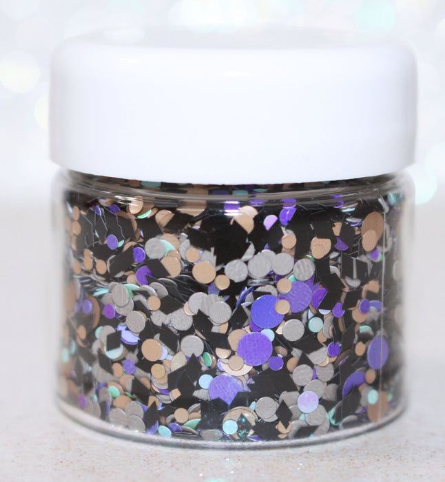 The Living Dead Halloween Body Glitter by GlitterLambs.com