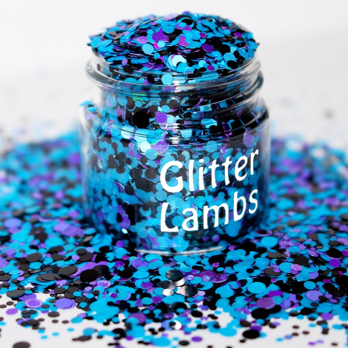 They're Back Glitter. Great for crafts, nails, resin, jewelry making, body, etc by GlitterLambs.com