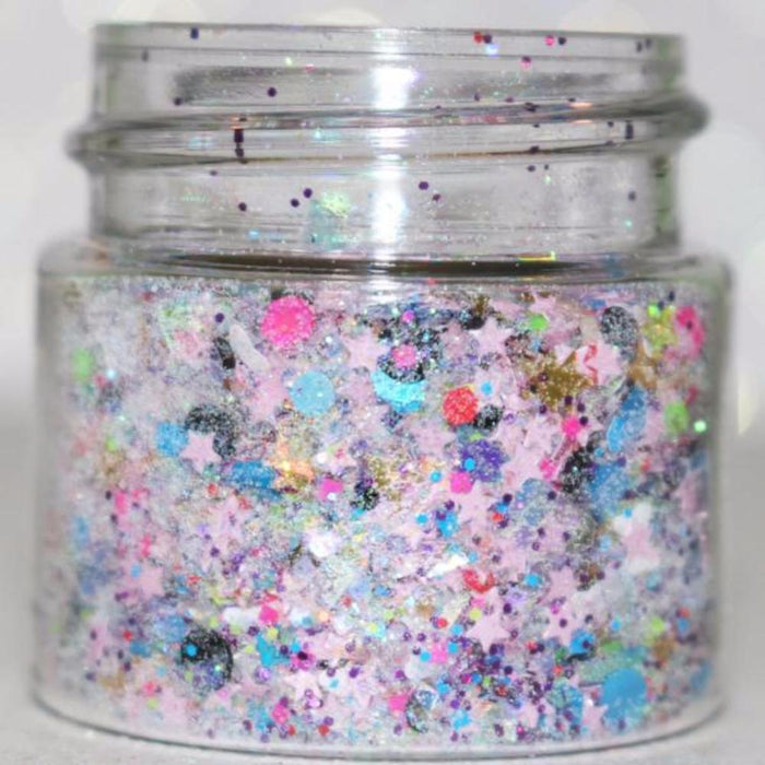 "Glitter Lambs ""Tooth Fairy Treats"" Chunky Body Glitter Pot GlitterLambs.com Tooth Fairy Chunky Body Glitter, Body Glitter, Body Glitter Pot"