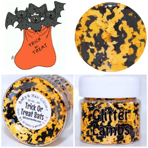 Trick or Treat Halloween Body Glitter by GlitterLambs.com