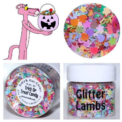 "Glitter Lambs ""Trick Or Treat Candy"" Halloween Body Glitter by GlitterLambs.com"