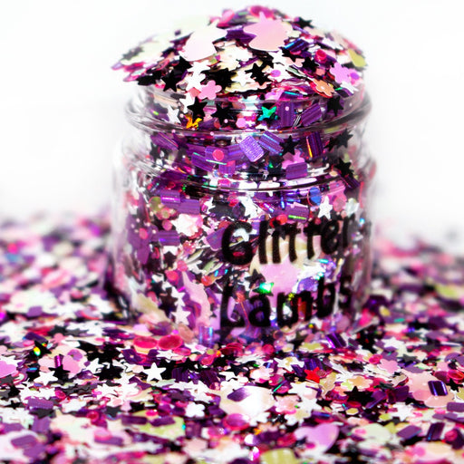 Unicorn Castle Glitter for crafts nails resin by Glitter Lambs GlitterLambs.com
