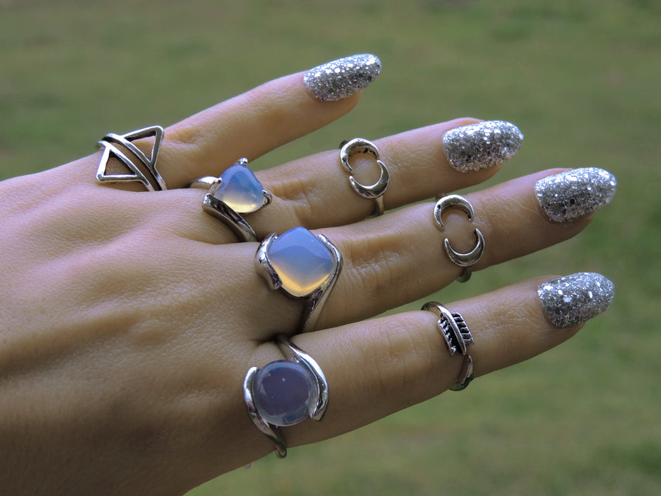 Wholesale Jewelry Lot | 38 Unicorn Tears Rings