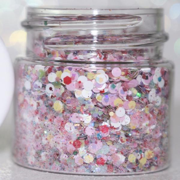 Unicorns Love Cotton Candy Body Glitter Unicorn Makeup Body Face Glitter Unicorn Hair GlitterLambs.com