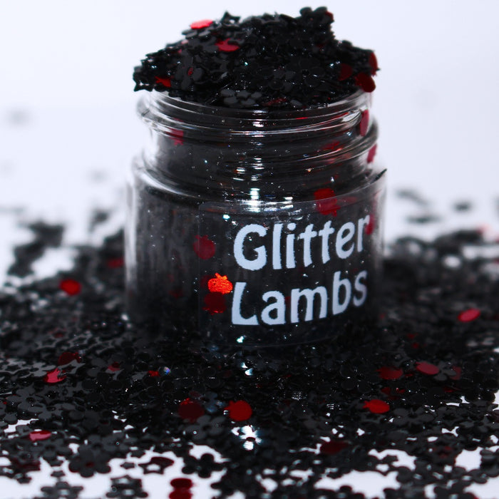 Zombie Snow White Glitter. Great for crafts, nails, resin, etc. by GlitterLambs.com
