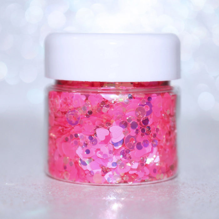 """Franken Berry"" Halloween Glitter by GlitterLambs.com 