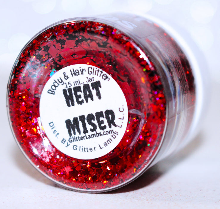 Heat Miser | The Year Without A Santa Claus Christmas Body & Hair Glitter