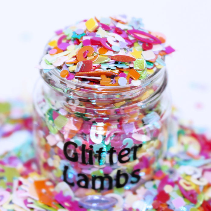 King Kandy Glitter. 15 mL Jar. Great for crafts, resin, body, hair, etc. by GlitterLambs.com