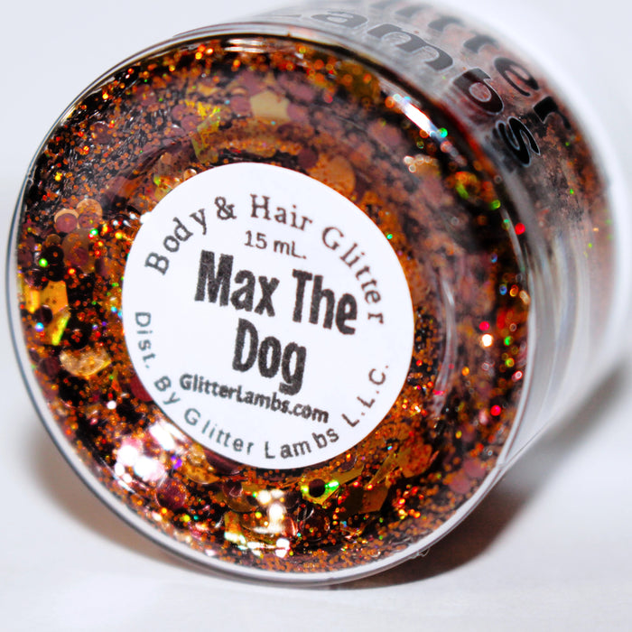 Max The Dog | The Grinch Who Stole Christmas Body Glitter