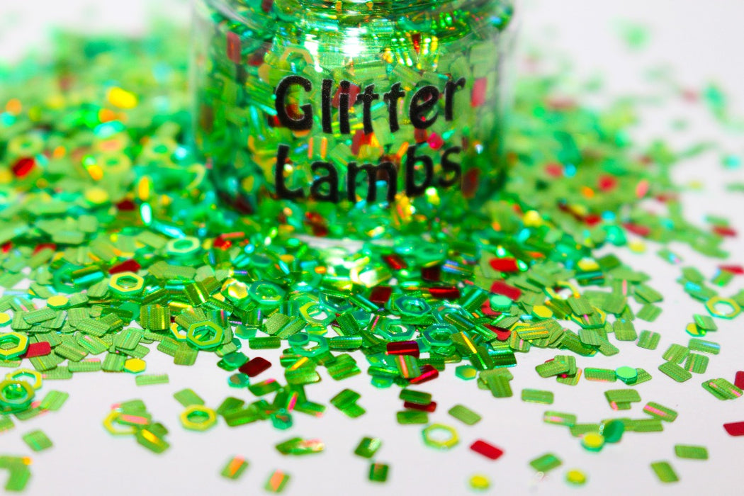 Miss Argentina Glitter. Great for crafts, nails, resin, body, hair, etc by GlitterLambs.com