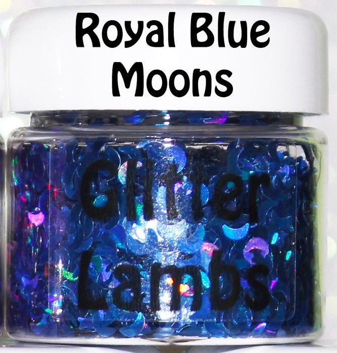 Holographic Moon | Body Glitter Pots (Pick a color)