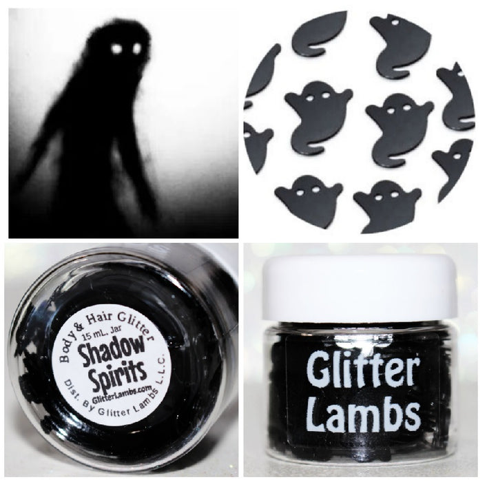 "Glitter Lambs ""Shadow Spirits"" Halloween Glitter by GlitterLambs.com"
