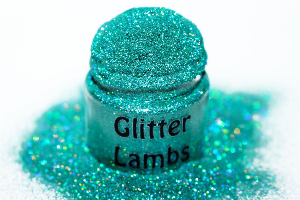 Virtual Reality Glitter. Size is .004. Great for crafts, nails, resin, tumbler cups, acrylic pouring, diy projects, etc. Jar is 15mL. by GlitterLambs.com