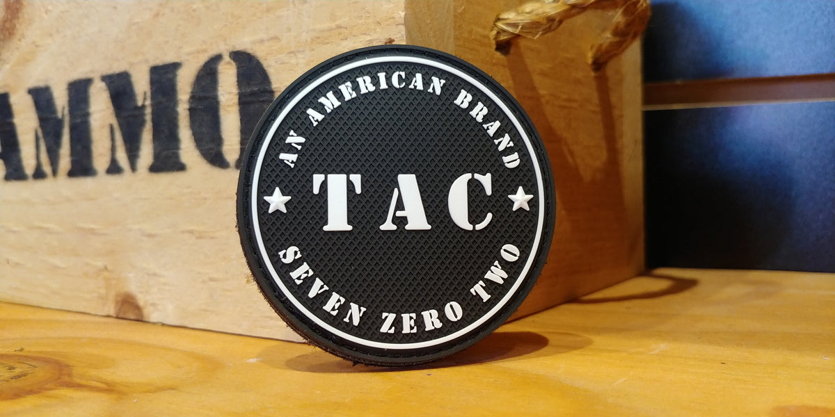 TAC 702 Logo Morale Patch American Brand