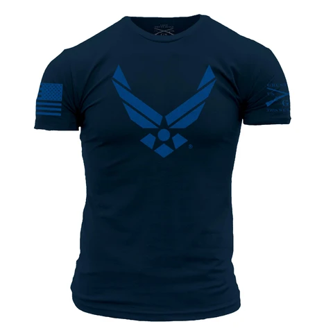Grunt Style - Air Force - Stealth Tee - Drop Ship