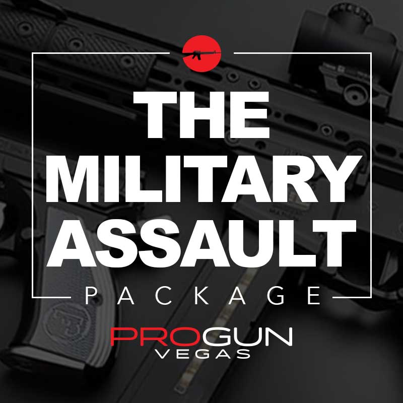 PRO GUN VEGAS - MILITARY ASSAULT EXPERIENCE